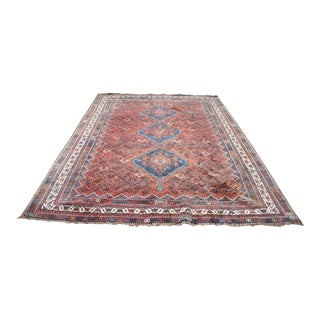 Vintage Tribal Rug- 7′4″ × 10′5″ For Sale