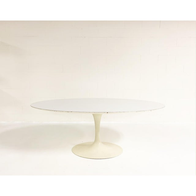 Contemporary Eero Saarinen Tulip Dining Table For Sale - Image 3 of 6