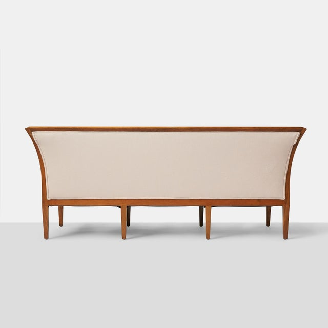 Jacob Kjaer Sofa With 8 Tapered Legs For Sale In San Francisco - Image 6 of 9