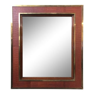 Ralph Lauren Home Modern Equestrian Mirror For Sale