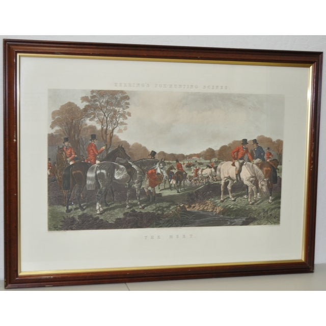 19th Century Fox Hunt Engravings - Set of 4 - Image 3 of 8