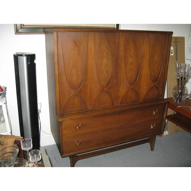 Broyhill Brasilia Highboy Dresser - Image 7 of 11