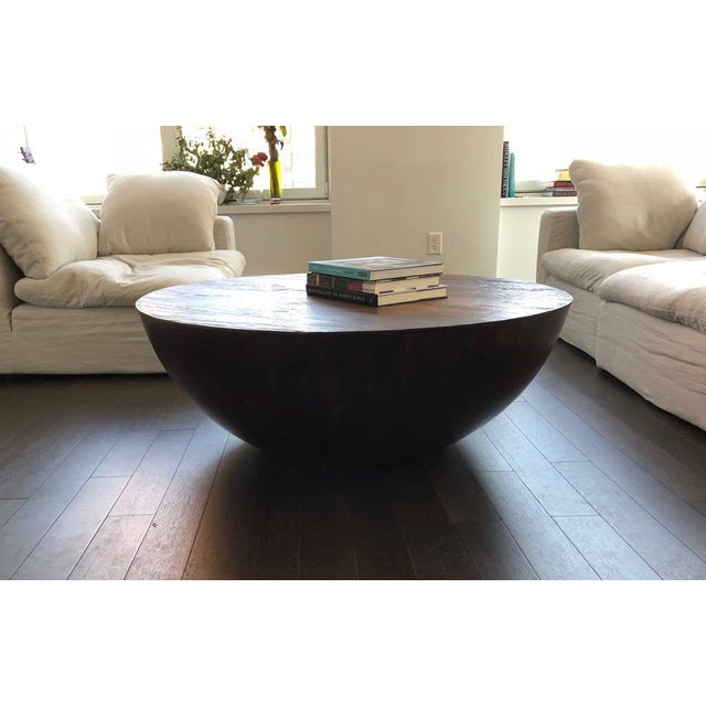 """Spanish Anthropologie """"Semisfera"""" Coffee Table For Sale - Image 3 of 4"""
