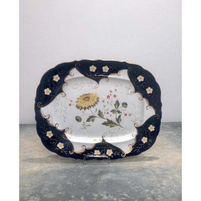 1790s Vintage Worcester Porcelain Platter For Sale In San Francisco - Image 6 of 6