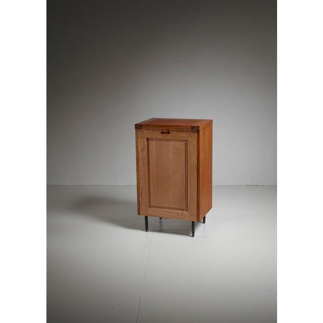 Atelier Marolles Jean Touret oak cupboard for Marolles, France, 1970s For Sale - Image 4 of 5
