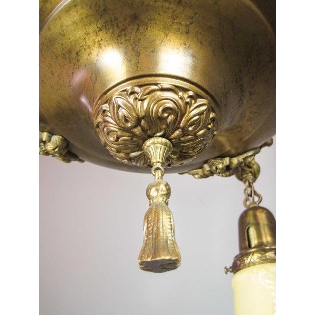 Embossed Original Pan Light Fixture (4-Light) - Image 6 of 9