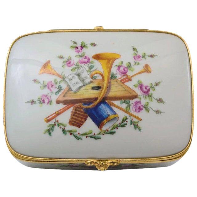 Atelier LeTallec Porcelain Box For Sale