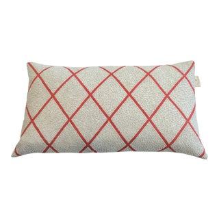 Kate Spade Beaded Trellis Pillow For Sale