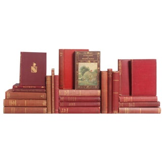 Marsala Pocket-Sized Classic Books - Set of 23 For Sale
