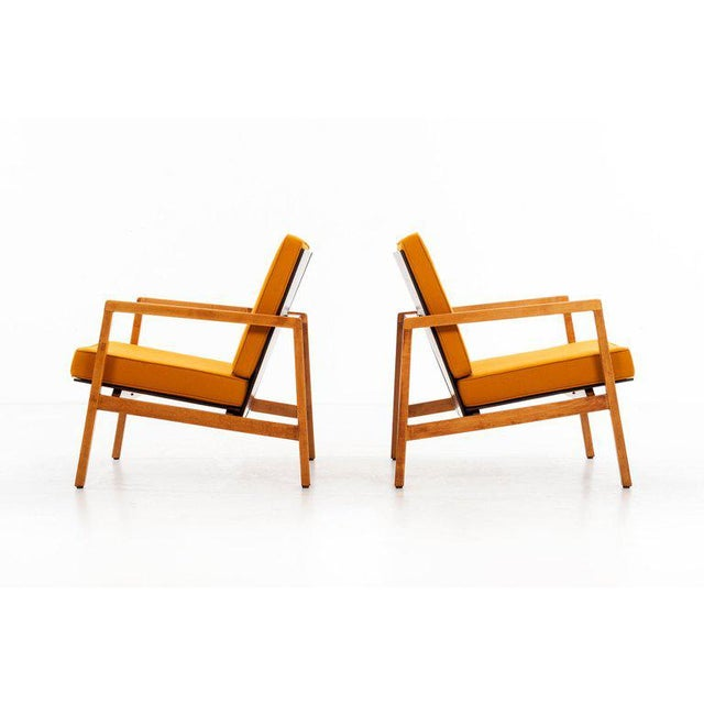 Lewis Butler Pair of Arm Chairs For Sale - Image 9 of 10
