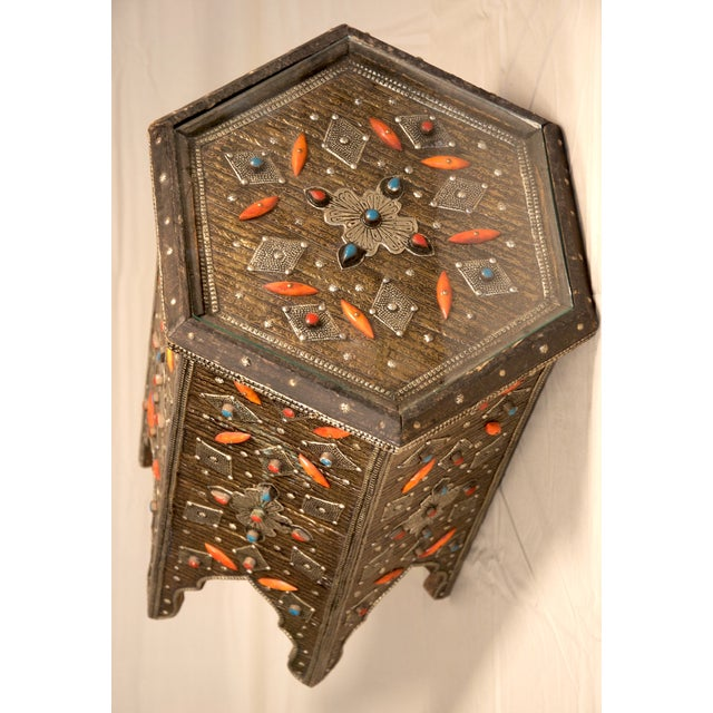Moroccan Star Shaped Table - Image 3 of 3