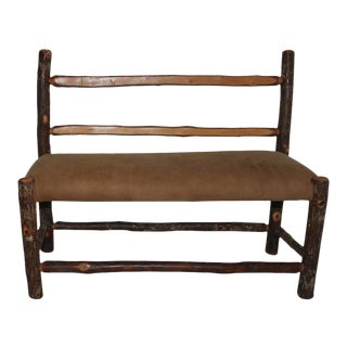 Old Hickory Children's Bench For Sale