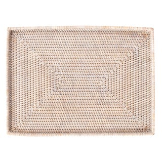 Artifacts Rattan Rectangular Tray For Sale