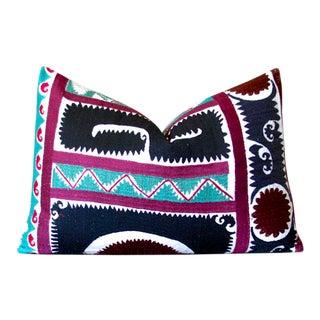 Nisarga Suzani Lumbar Pillow For Sale