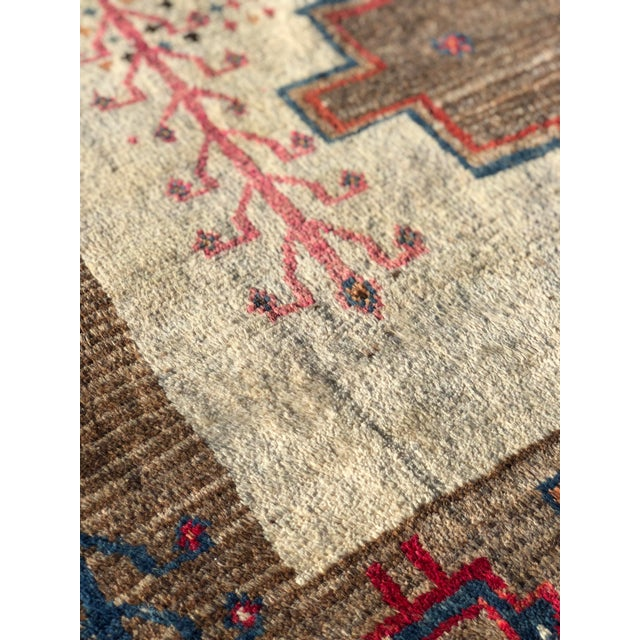 1970s 1970s Vintage Persian Gabbeh Rug - 4′9″ × 8′3″ For Sale - Image 5 of 13