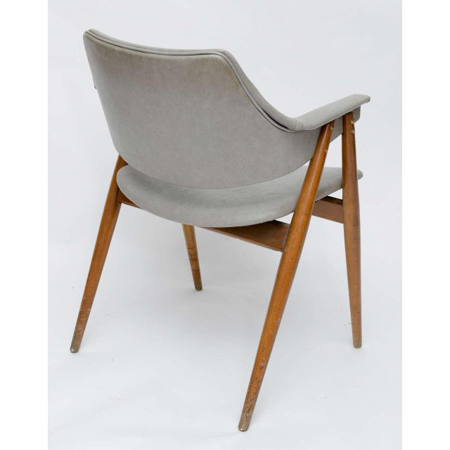 Wooden MCM Chair Attributed to Paul McCobb 1950 For Sale In Miami - Image 6 of 10