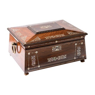 Antique Sewing box For Sale