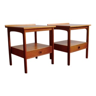 1960s Side Tables by Folke Ohlsson - a Pair For Sale
