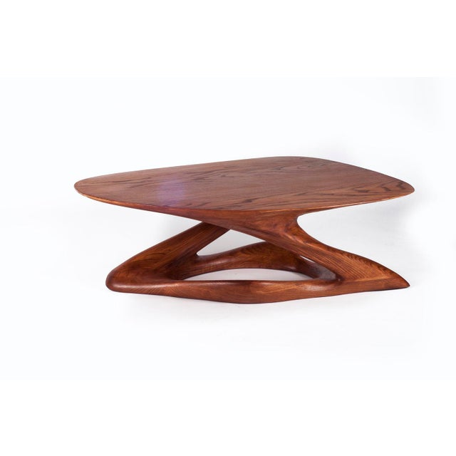 Amorph Amorph Plie´ Coffee Table, American Walnut For Sale - Image 4 of 6