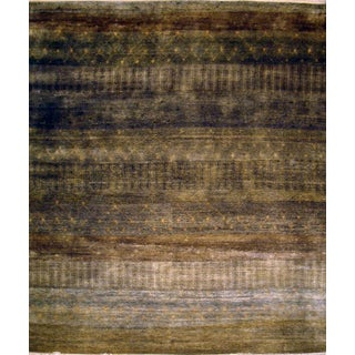 Pasargad Modern Hand-Knotted Wool Area Rug- 8'x10'