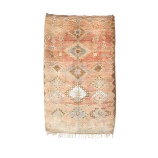 """Boujad Vintage Moroccan Rug, 5'3"""" X 8'9"""" Feet"""