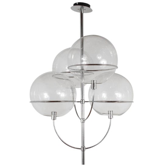 1970s Fixture in the Manner of Vico Magistretti For Sale