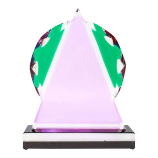 Shlomi Haziza Postmodern Abstract Acrylic Tabletop Sculpture For Sale