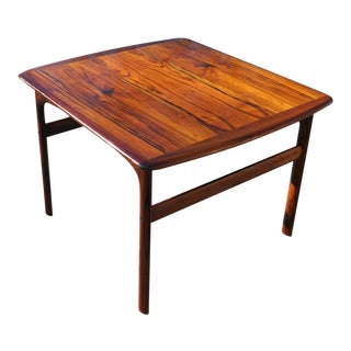 1960s Mid-Century Modern Brazilian Rosewood Side Table For Sale