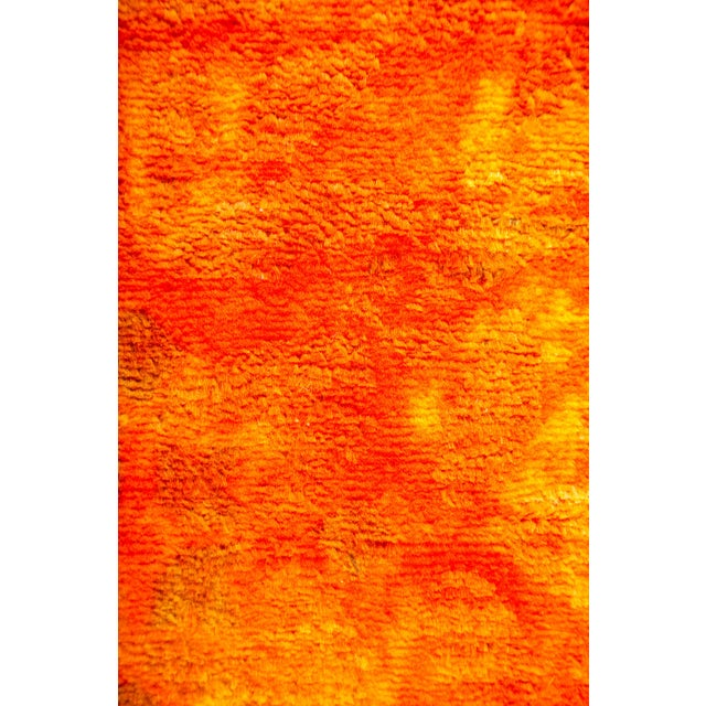 """Contemporary Vibrance Hand Knotted Area Rug - 7'10"""" X 10'5"""" For Sale - Image 3 of 4"""