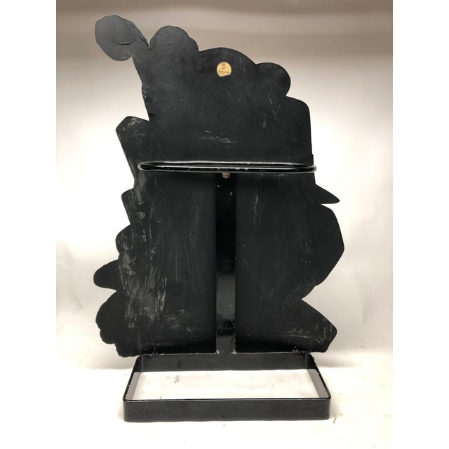 """Metal """"Cappelli"""" Tole Umbrella Stand by Piero Fornasetti For Sale - Image 7 of 9"""