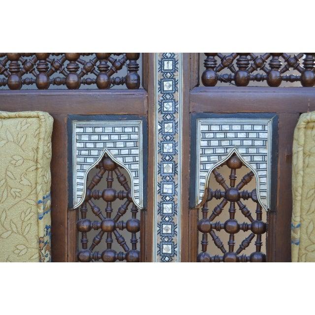 White 19th-C. Fine Moorish Salon Suite, 6 Pcs For Sale - Image 8 of 13