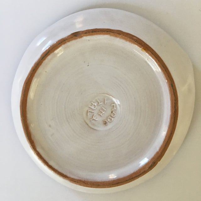 Black Italian Mid-Century Modern Leopard Pottery Bowl/Catchall For Sale - Image 8 of 10