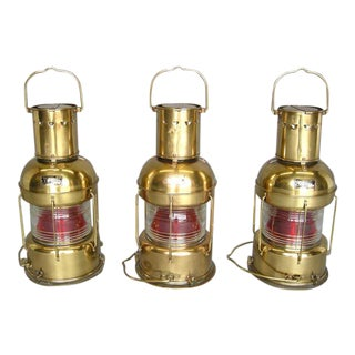Vintage Japanese Nautical Lamps For Sale