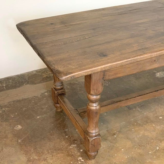 Farm Table, 19th Century Country French Oak For Sale In Dallas - Image 6 of 12