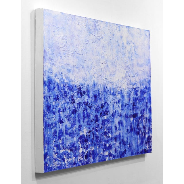 ''Oceanic Escape'' Contemporary Abstract Acrylic Painting by Clara Berta For Sale In Los Angeles - Image 6 of 9
