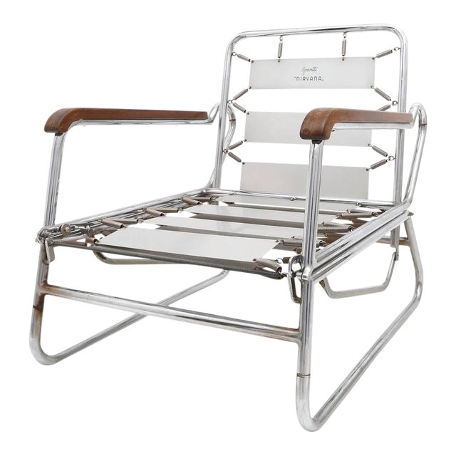 1950s Italian Swimming Pool Chaise Lounge Chair For Sale