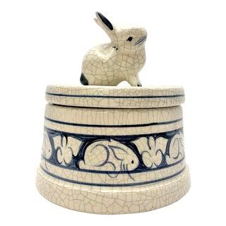 Ceramic Bunny Box For Sale