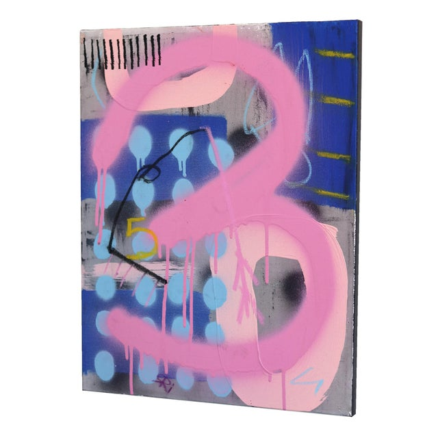 """Sarah Svetlana """"No One Cares About Your Kid Judith"""" Original Painting For Sale In Los Angeles - Image 6 of 9"""
