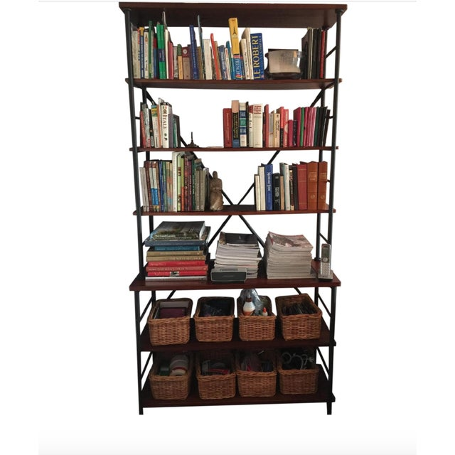 """""""Sonoma"""" bookcases from Ballard Designs (retails for $499). Purchased a little over two years ago but I am currently..."""