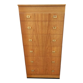 Vintage Mid-Century Retro Remploy Chest of Drawers For Sale