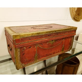 19th Century Hand Painted Chinese Camphor Wood Chest Preview