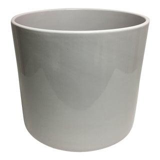 Gainey Cylinder White Planter