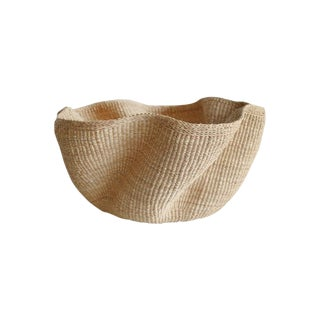 Contemporary Woven Basket For Sale
