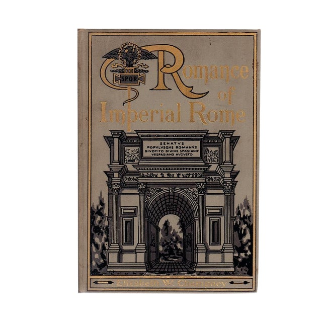"1910 ""Romance of Imperial Rome"" Collectible Book For Sale"