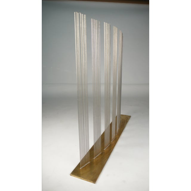 """Modern Val Bertoia """"8 Times Sound"""" Rods Sculpture For Sale - Image 3 of 11"""
