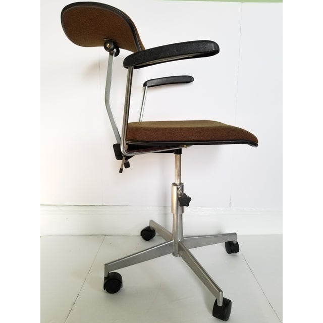Brown Labofa Mid-Century Modern Desk Chair For Sale - Image 8 of 13