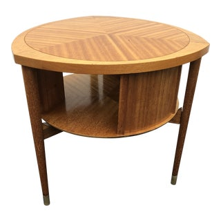 John Keal for Brown Saltman Drum Table For Sale