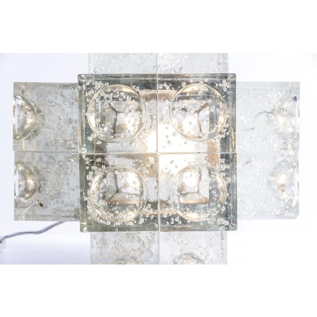 1960s Murano Glass Italian Mid-Century Table Lamp by Albano Poli for Poliarte, 1960s For Sale - Image 5 of 12