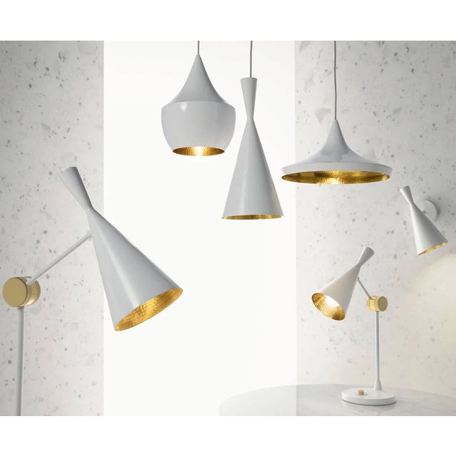 Tom Dixon Beat Wall Light in White For Sale In Los Angeles - Image 6 of 9