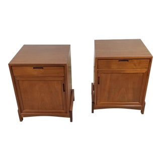 Danish Modern Night Stands - a Pair For Sale